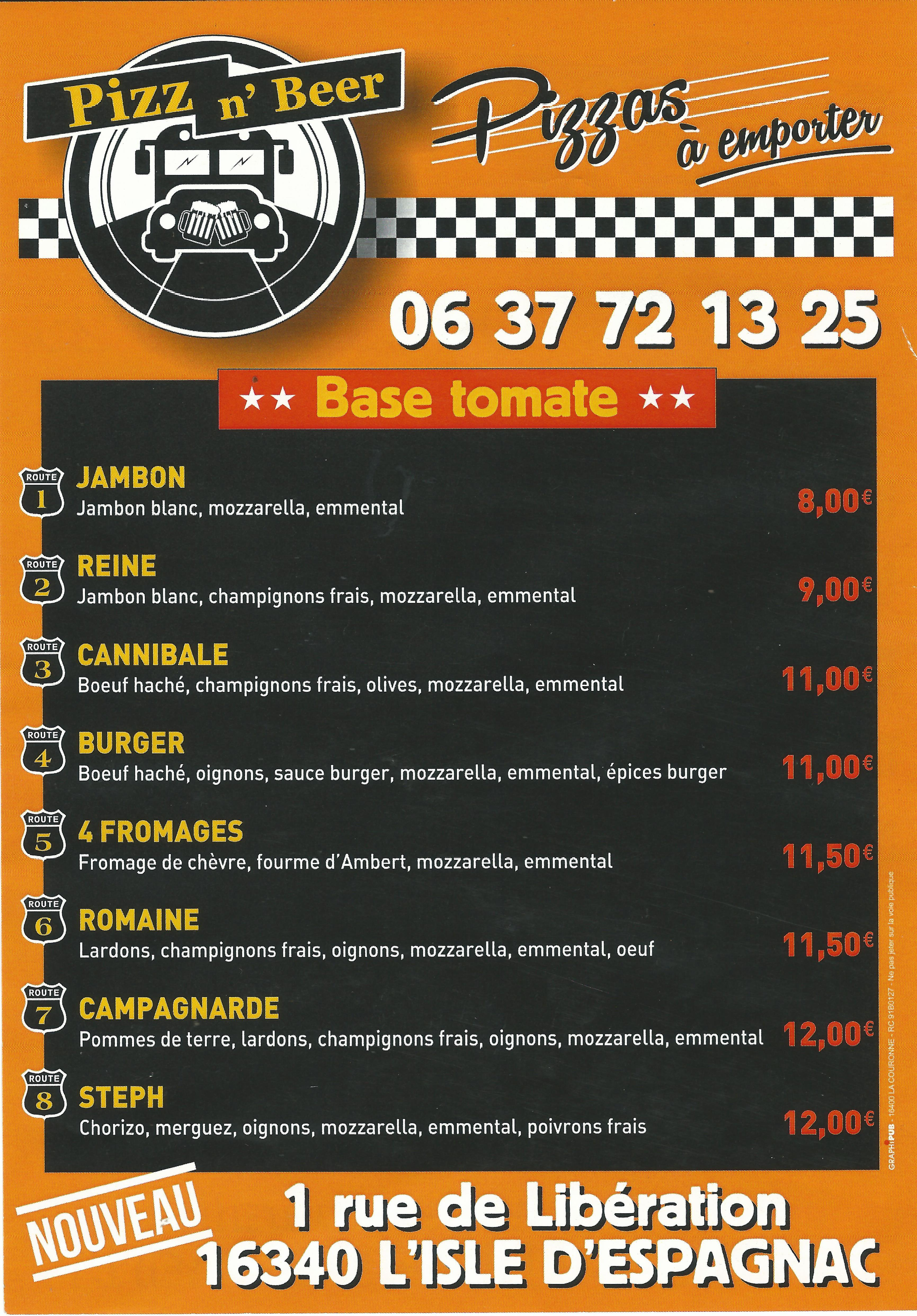 Pizz n' Beer - Cliquer ici